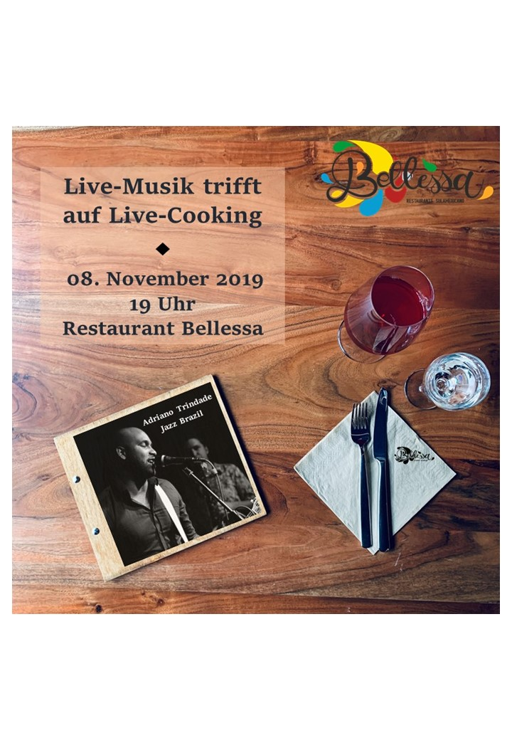 Live Cooking trifft auf Livemusik